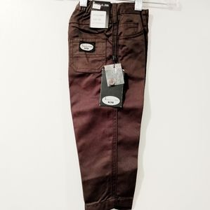 NWT Pants Casual Trousers Brown By Roberta de Roma